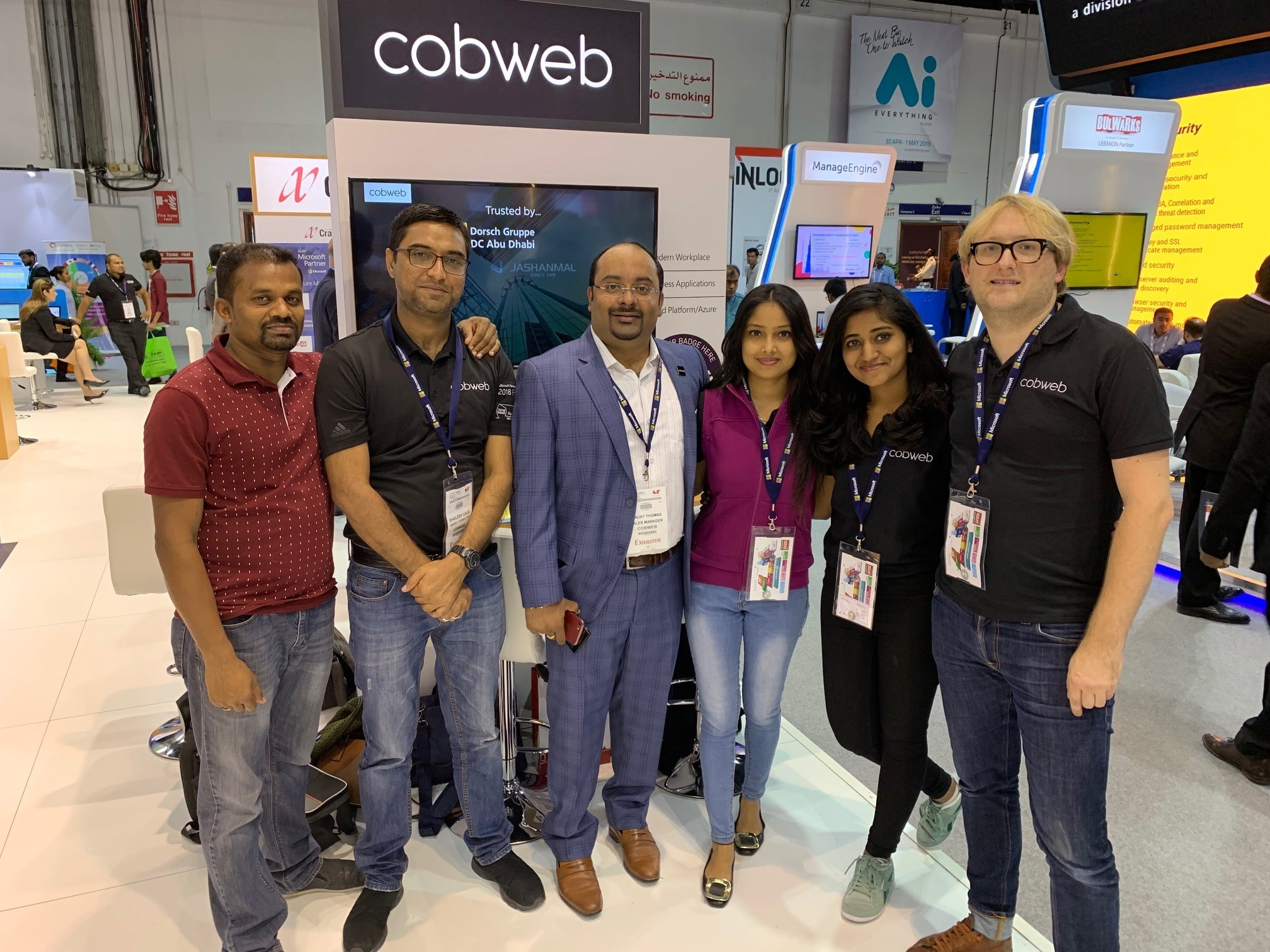 The Team at GITEX