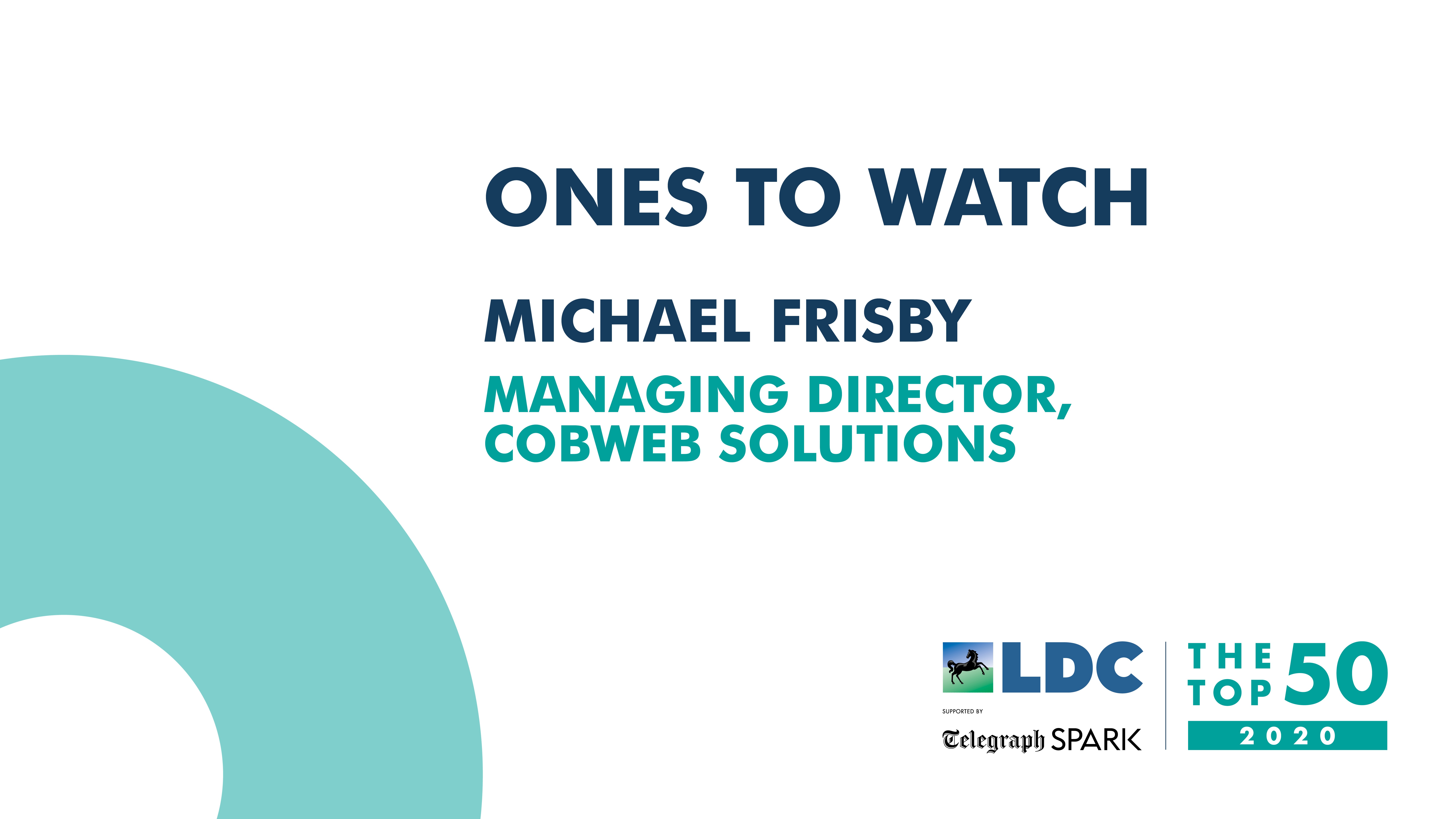 One to watch, Michael Frisby