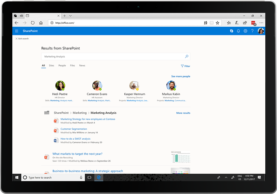 sharepoint-intelligent-search