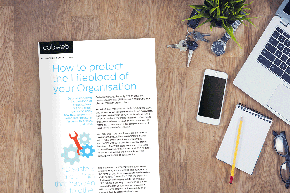 How to Protect the Lifeblood of your Organisation